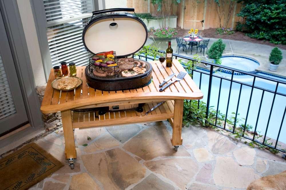 Barbecue en céramique Oval XL de la marque Primo