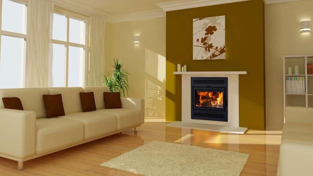 Foyer au bois à dégagement zéro Astra TD de Suprême avec un taux d'émission de 1,8g/h