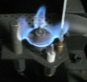 Veilleuse avec thermocouple et thermopile