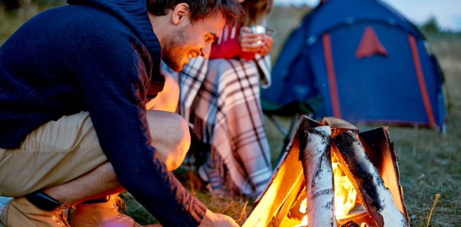 Quelques trucs pour un bon feu de camp