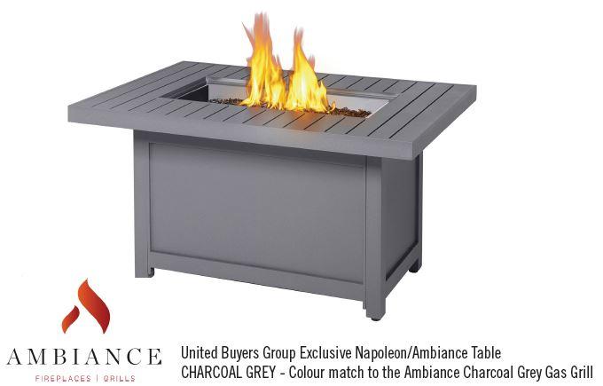 Foyer De Table Napoleon : Barbecues au gaz passion feu