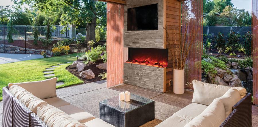 Des foyers extérieurs pour profiter de votre été