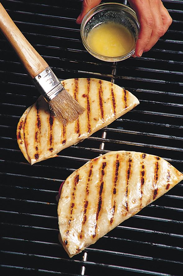 Comment Griller des Quesadillas