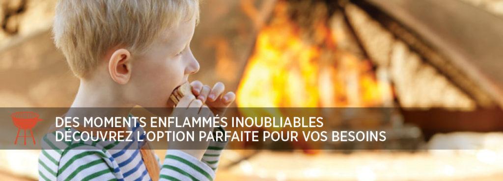 Profitez de la chaleur du feu en famille
