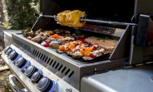 Comment cuisiner sur le barbecue avec un ensemble de rôtisserie