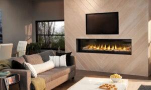 Une téléviseur installé au-dessus du foyer risque-t-il d'être endommagé ?
