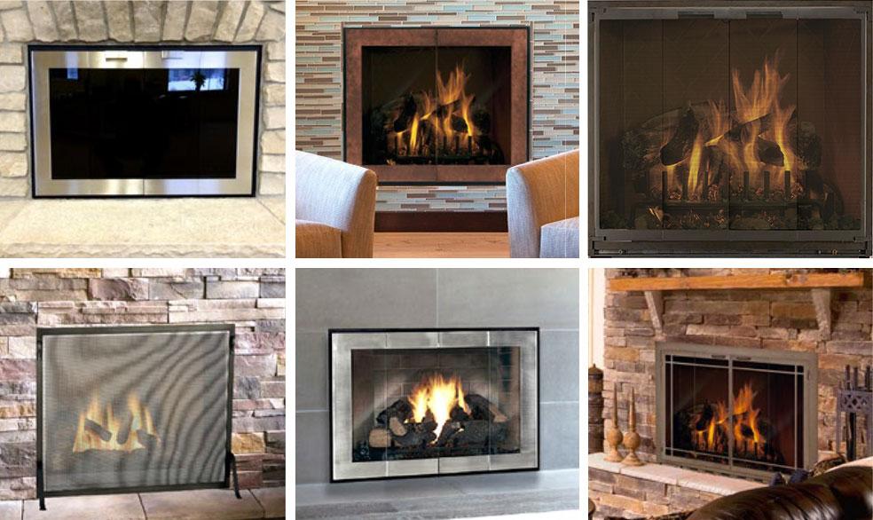 Les portes de foyer Design Specialties ajoutent de la beauté et du style à votre foyer. Les portes en verre assurent également la sécurité et permettent d'économiser de l'énergie.