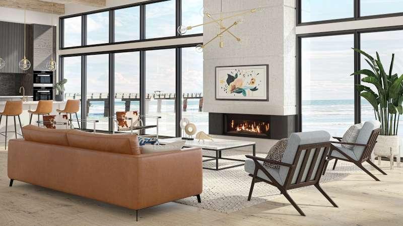 Un foyer peut-il chauffer toute la maison ?
