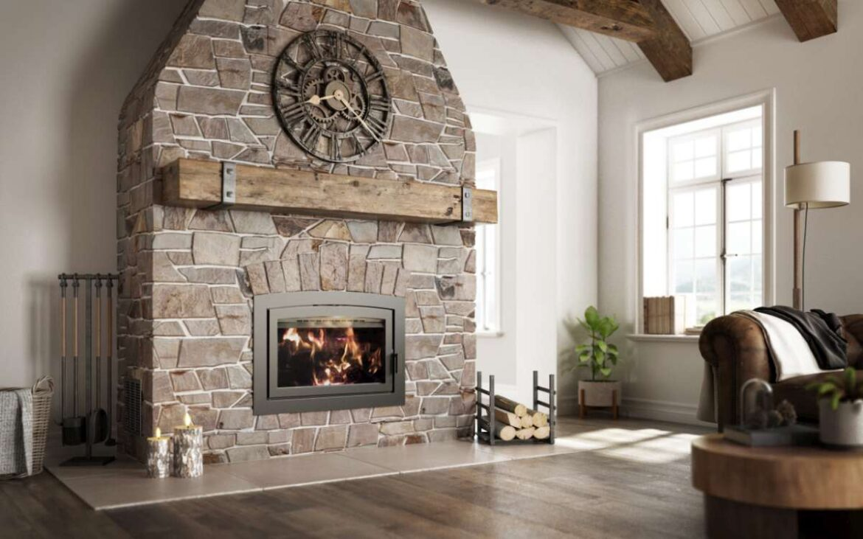 Foyer au bois rustique Ambiance