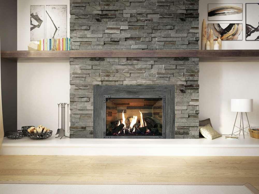 Comment fonctionne une cheminée? encastrable au gaz Ambiance Inspiration 34 Citadel Silver Birch