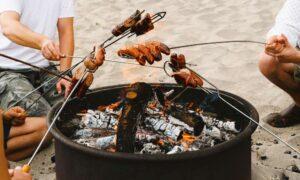 Ayez du plaisir à cuisiner sur votre foyer extérieur