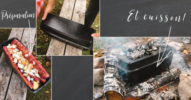 """Peut-on cuire des côtes levées sur un feu de camp? Comment cuisiner sur votre foyer extérieur? Cuisiner sur votre """"pit à feu"""" à la maison ou en camping!"""