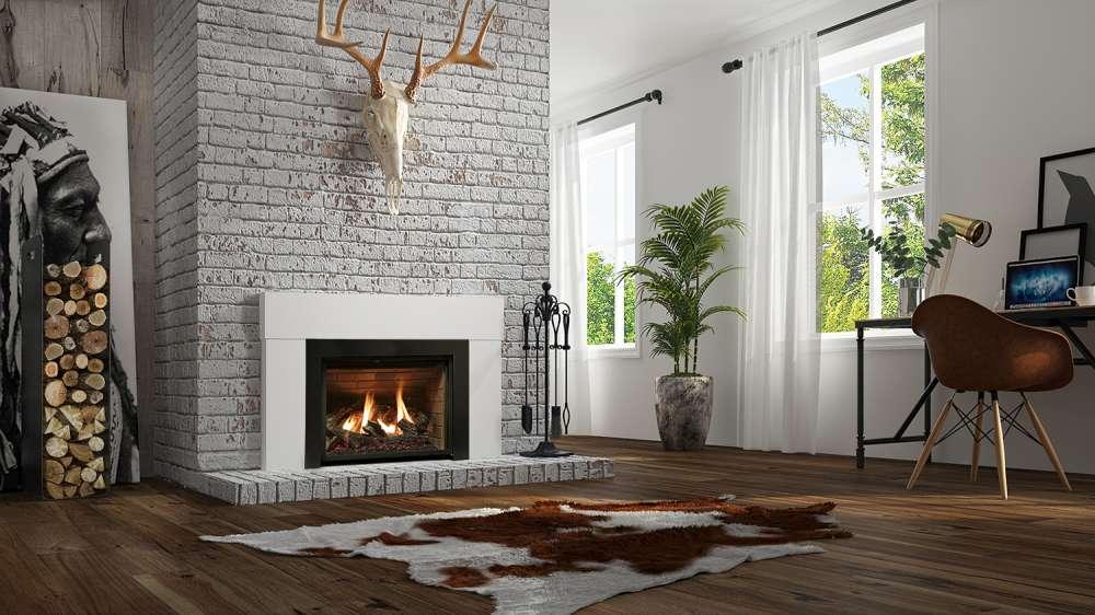 Foyer encastrable au gaz Inspiration d'Ambiance. Quelle taille de foyer ai-je besoin?